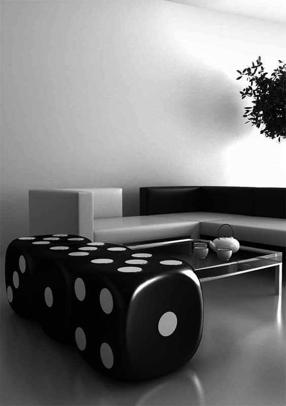 Cool Home Electric Radiator for Black and White Room – Dado by ID-EE