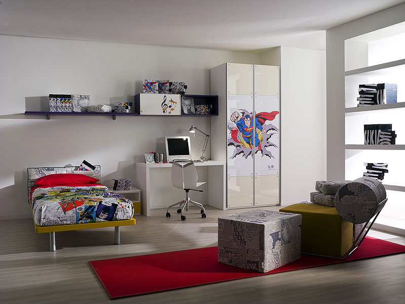 Cool kids room with new designs by cia international for Art decoration international