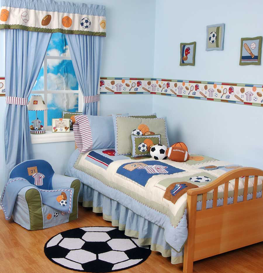 27 cool kids bedroom theme ideas digsdigs for Futon kids room