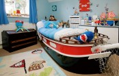 an awesome boy room design inspired by sea