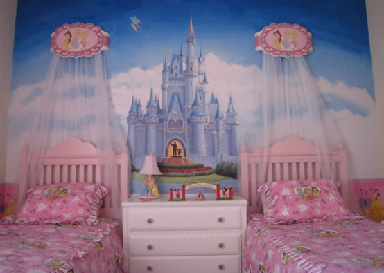 27 cool kids bedroom theme ideas digsdigs for Castle bedroom ideas