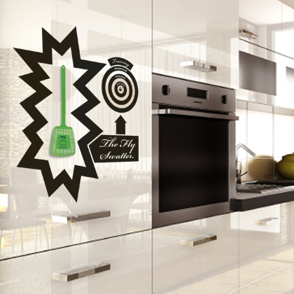 Cool Kitchen Vinyl Stickers By Hu
