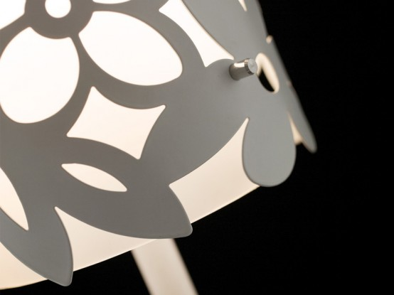 Cool Modern Lamps With Floral Pattern Mayela Bu Citylux