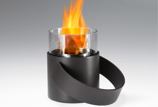 Cool Portable Fireplace - HotPot By Conmoto - DigsDigs
