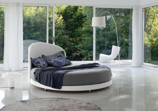 Cool Round Beds – Kaleido from Euroform