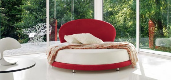 Cool Round Beds Kaleido From Euroform