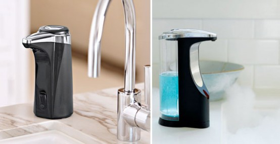 Cool Sensor Soap Pump For Kitchen And Bathroom By Simplehuman