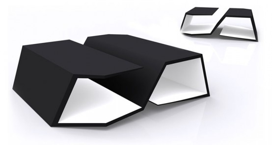 Cool Ultra Modern Dining And Low Tables By Rlos Design