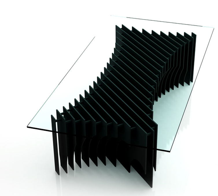 dining table ultra modern glass dining table