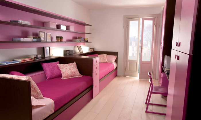 Cool and Ergonomic Bedroom Ideas for Two Children ~ Home Decorating ...
