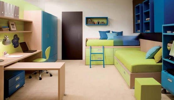 Minimalist Decorating Ideas Color Theme Child Bedroom