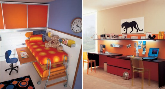 Cool And Ergonomic Bedroom Ideas For Two Children By Dearkids