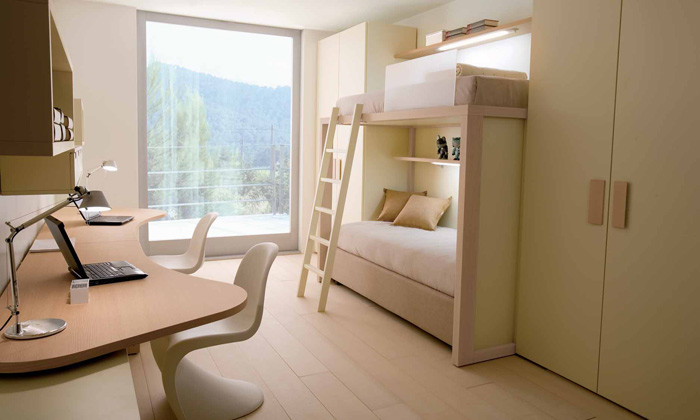 cool and ergonomic bedroom ideas for two children ~ interior