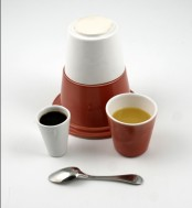 Cool And Functional Breakfast Set On The Road By Pierre Lescop