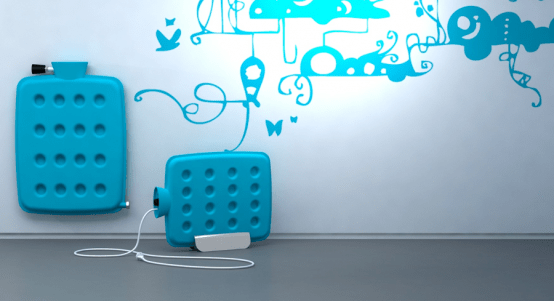 Cool and Funny Electric Radiator – Bouille'hot by Florent Cuchet