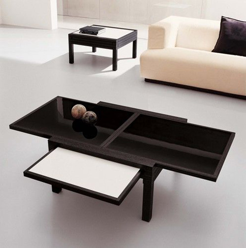 Cool Expandable Coffee and Dining Tables by Sculrtures Jeux DigsDigs