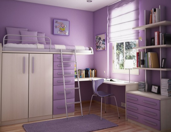 Cool Inspirations for Beautiful Violet Interior Design