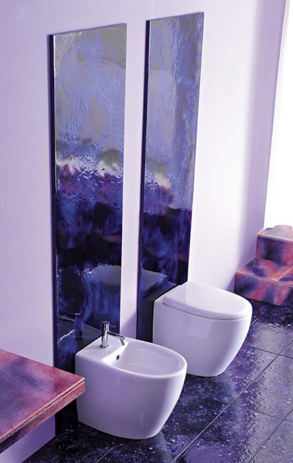 Wall Design Violet : Cool inspirations for violet interior design digsdigs