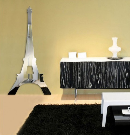Cool paris themed room ideas and items digsdigs for Stickers para habitaciones juveniles