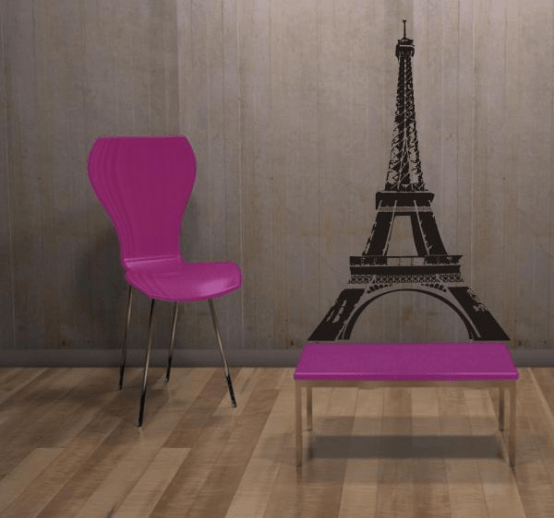 Cool Paris-Themed Room Ideas and Items - DigsDigs