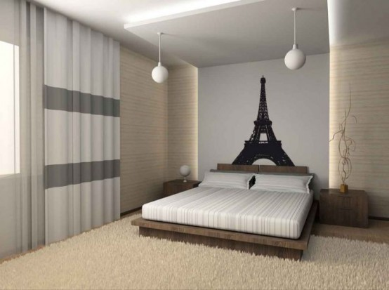 Superbe Cool Items For Paris Themed Room Design