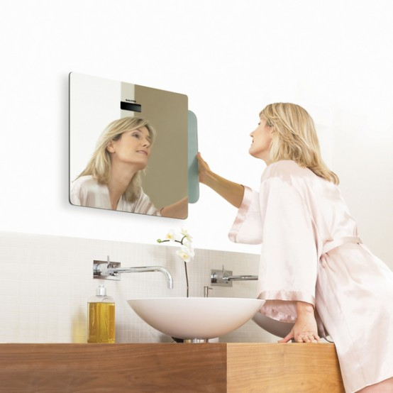 Cool Mirror For Small Bathroom – Salter Mirror Scale