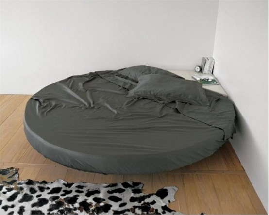 Cool Round Floating Bed - Fluttua C by Lago - DigsDigs