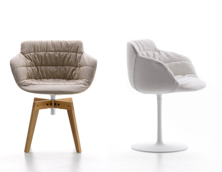 Cool small armchairs flow armchair tessile by mdf italia for Cool armchairs