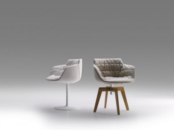 Cool Small Armchairs – Flow Armchair Tessile by MDF Italia