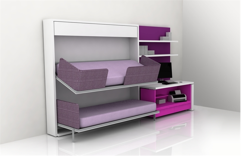 Cool Teen Room Furniture For Small Bedroom By Clei