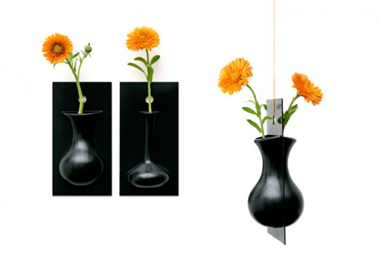 Cool Wall Flower Vase – Flow by Ernest Perera