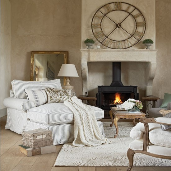 Cosy French Style Living Room