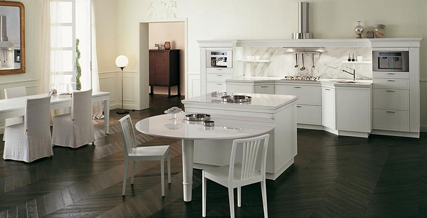 Cozy classic kitchen designs florence by snaidero 1