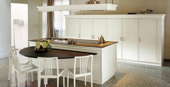 Cozy Classic Kitchen Designs Florence By Snaidero
