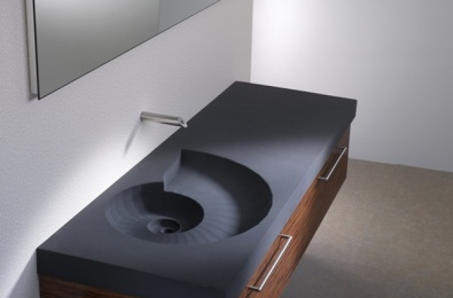 Creative Bathroom Washbasin Ammonit By Sasso Digsdigs