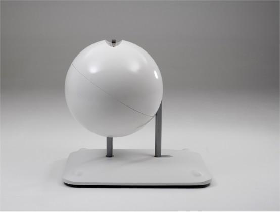 Creative And Ergonomic Work Station Globus By Artifort