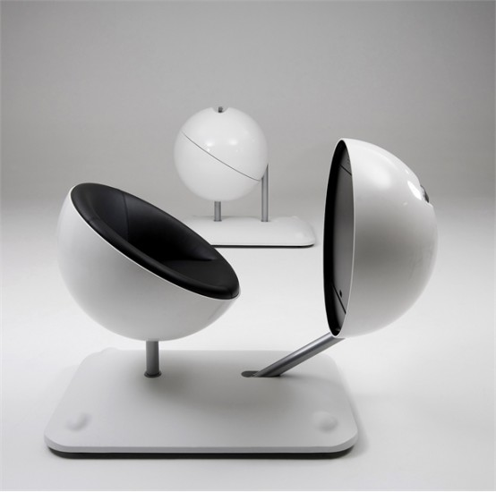 Creative And Ergonomic Work Station – Globus By Artifort