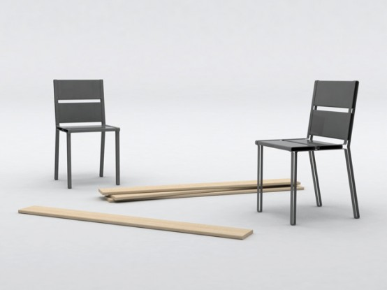 Creative and Practical Chairs – To Share by Aïssa Logerot