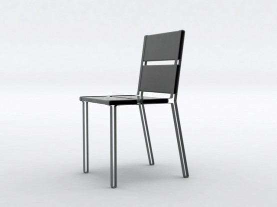 Creative And Practical Chairs  To Share By Aïssa Logerot