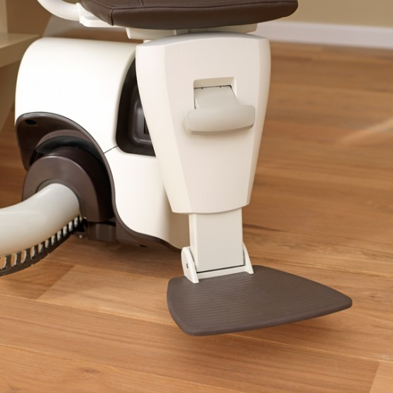 Curved Stair Lift Sinor By ThyssenKrupp Monolift