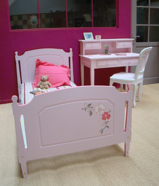 Cute Beds for Nice Girls Room Designs from Maman m'adore