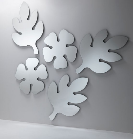 Decorative Mirrors Frasca And Lotus by Porada | DigsDigs