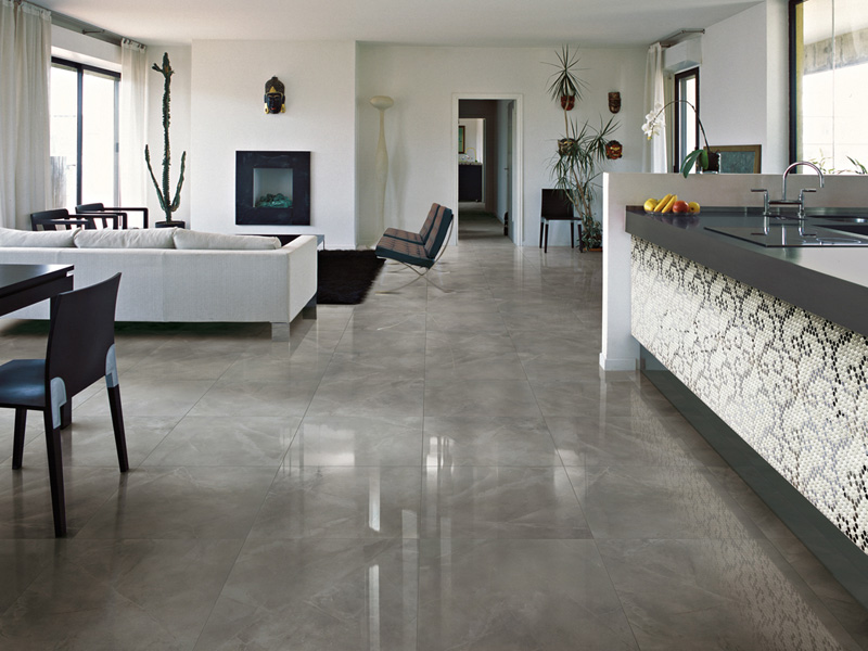 Decorative porcelain tiles royal marble by ceramica Living room tile designs