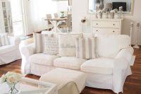 Ektorp sofa in a vintage-styled living room