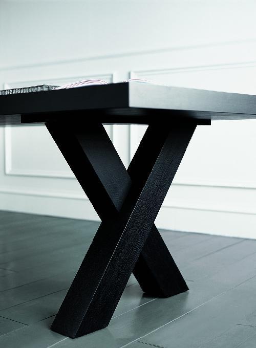 Elegant Black Dining Table Andrea By Casamilano