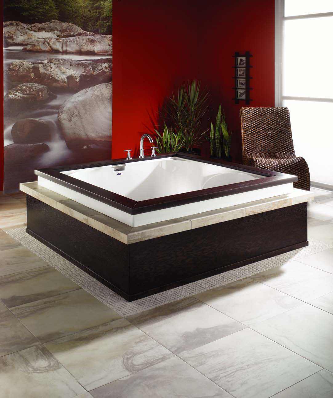 Elegant Japanese Soaking Tub – Macao by Neptune
