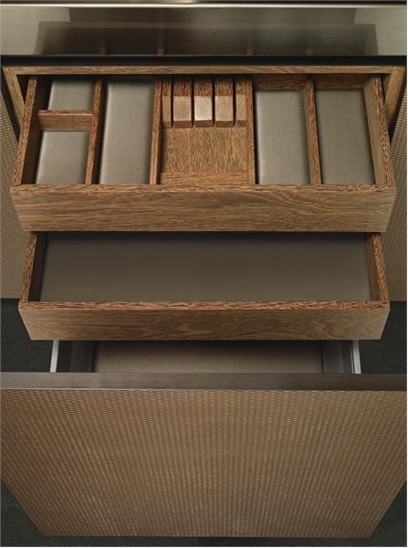 Elegant Wooden Kitchen Bridge By Armani Dada