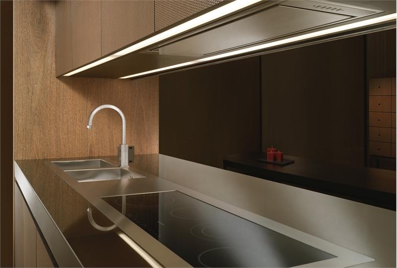 elegant wooden kitchen bridge by armani  dada digsdigs wooden kitchen design ideas wooden kitchen design ideas
