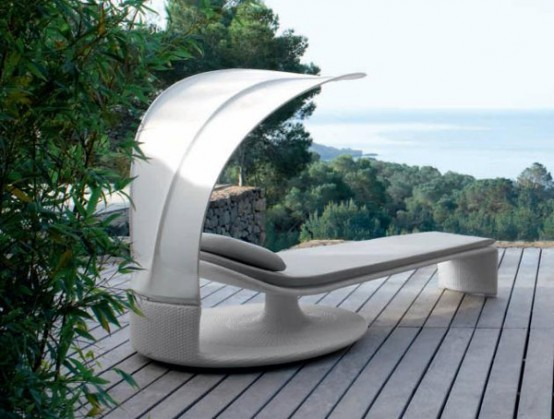 Elegant Outdoor Chaise Lounge Summer Cloud By Dedon Digsdigs