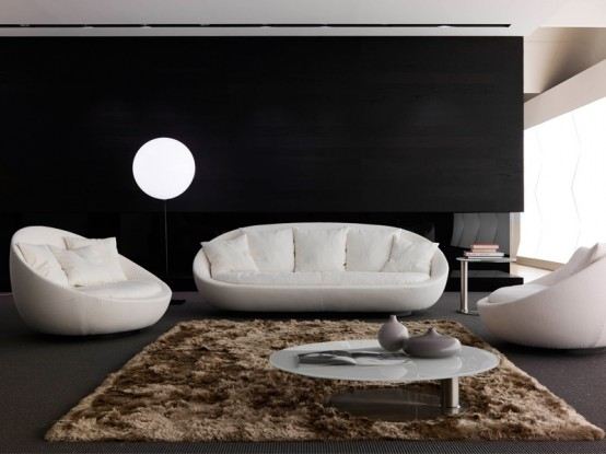 Elegant Sofa for Modern Living Room – Lacon by Desiree Divano